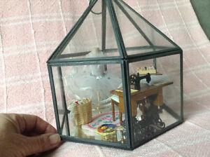 Dollhouse Miniature Sewing Room Diorama