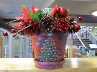 Create a Festive Floral Arrangement