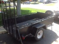 2003 advantage trailer 4x8 with ramp. Lots of rot needs work.