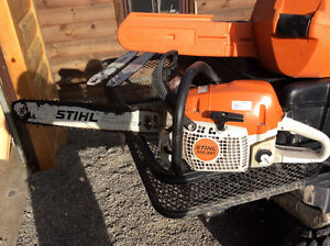 Stihl ms 391 chain saw