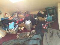 House clearance! Work gear, new things, tools, clothes, furniture, crafting, electronics,