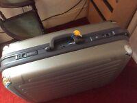Hard suitcase. £15