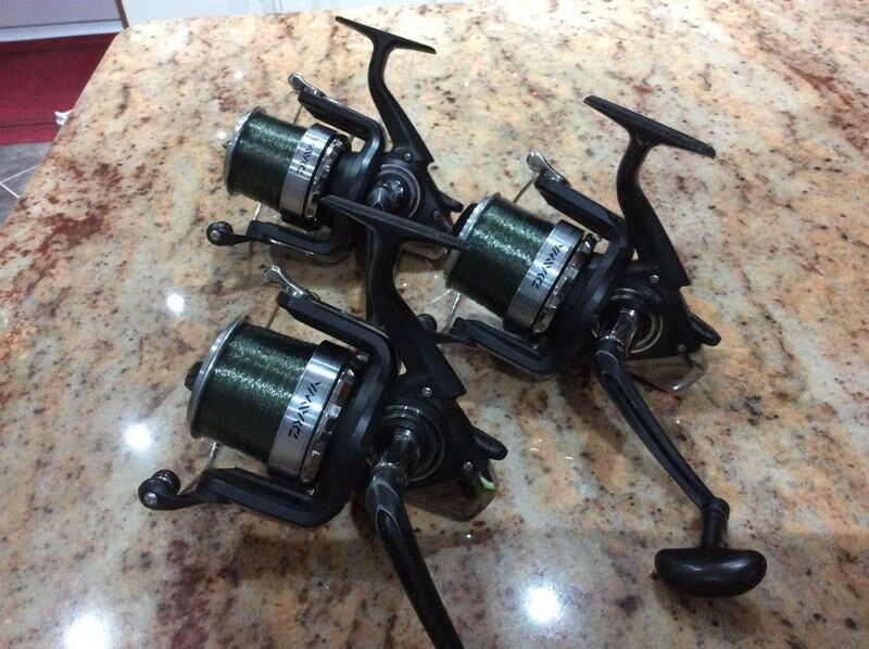3 x Daiwa crosscast S 5000 big pit carp reels | in Wickersley, South  Yorkshire | Gumtree