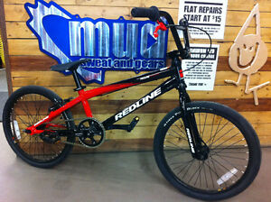 REDLINE PRO EX XL BMX RACE BIKE: MUD SWEAT & GEARS SPRUCE GROVE