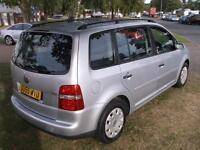 2005 Volkswagen Touran 1.9 TDI PD S 5dr [7 Seat] 5 door MPV