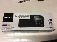 Sony digital radio black - XDR-S40DBP (New)