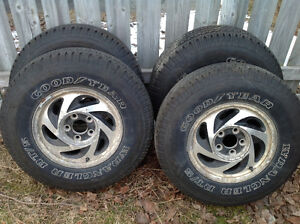 Rims and tires to fit chev blazer or s10.     235/75/15