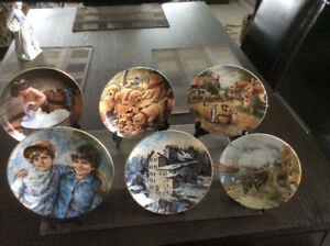 Beautiful Collector Plates