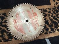60 carbide teeth non-ferrous metal blade