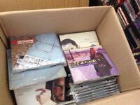 1000x CDs pop / rock / house / hip hop /