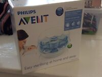 Avent steriliser for microwave