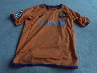 KIDS BARCELONA FOOTBALL SHIRT