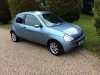 2007 ford ka climate only 65000 fsh