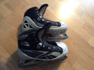 junior goalie skates size 3