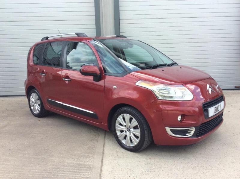 2009 citroen c3 picasso 1 6 hdi 8v exclusive 5dr in. Black Bedroom Furniture Sets. Home Design Ideas