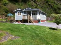 Luxury Holiday Lodge Near Looe Quiet woodland setting Sleeps 4 Prices from £335