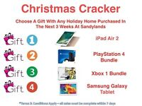 Free Gift At Sandylands For Xmas With Any Holiday Home Purchase
