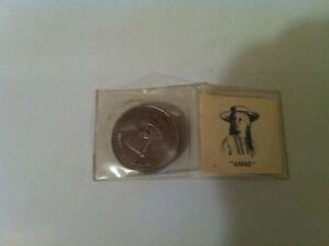 Anne Green Gables collector coin for sale