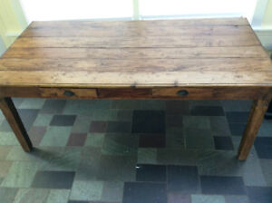 """Large Wood Desk or Table 36"""" x 72"""""""