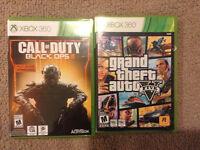 Black ops 3 et GTA 5 à vendre ! (XBOX 360)