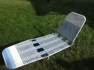 Sturdy lawn recliner