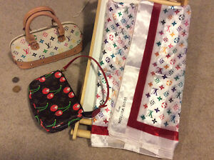 LV Inspired Small Purses x 2 / LV Scarf London Ontario image 1