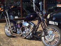 Part Exchange Welcome Custom Old Skool Softail Chop Not Harley Davidson Chopper Bobber
