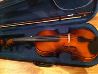 Complete Violin, Accessories and Lessons Package!