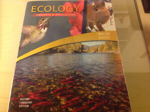 Trent textbook for BIOL 3380H Advance ecology course