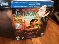 Immortals 3D dvd