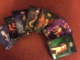 Buffy DVD Boxsets, all seasons 1-7