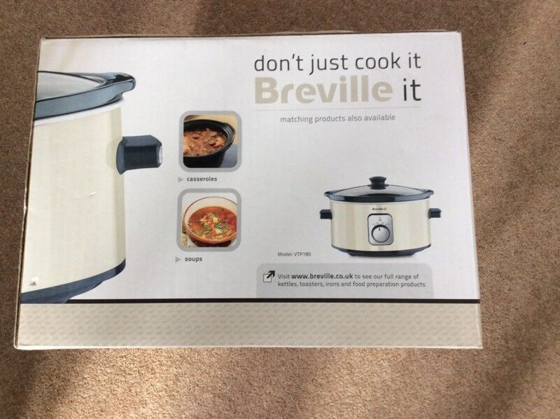BREVILLE SLOW COOKER CREAM COLLECTION