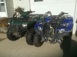selling our 2 quads