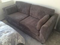 Sofa and large footstool only £110!!!! As good as new!!!