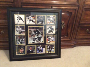 Sidney Crosby signed framed picture