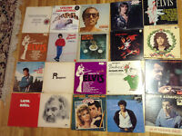 400 vinyles 33 tr (1 à 4$) ABBA, Elvis, Ritchie, BeeGees, Bread,