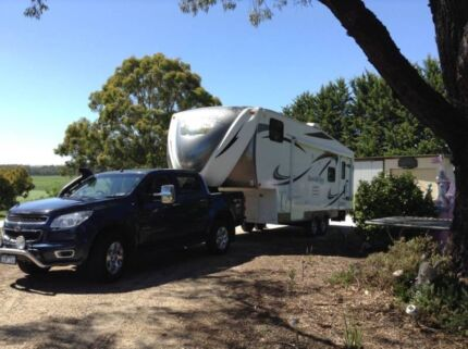 Fifth wheeler van $65000 and tow vehicle $28000k