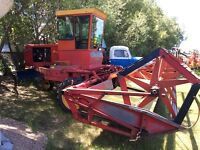 SP SWATHERS. +  6ft. Swath Roller.  Steel tapered