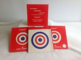 Targets coloured card brand new boxed