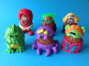 McDonalds & Burger King Happy Meal Toy Sets