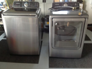 Samsung washer and dryer ... like new.