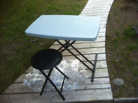 Folding Activity Table and Stool Set