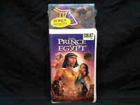 THE PRINCE OF EGYPT BY DREAMWORKS ( SEALED ) VHS