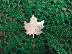 Vintage Maple Leaf Brooch