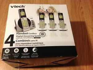 Brand New VTech 4 handset/answering machine
