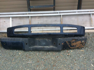 Front and rear bumper 2008 ford f250