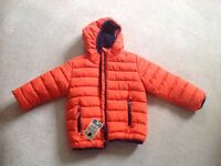 Boys new with tags Next coat 4/5 yrs