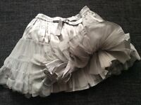 NEXT girls party skirt tu-tu style as new!