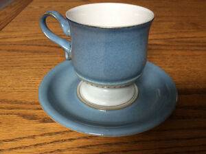 Denby Cups and Saucers 6 sets New