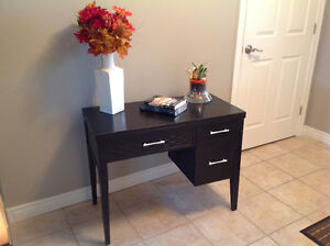 Entry-Way Table or Beautiful Desk, with 2 useable drawers